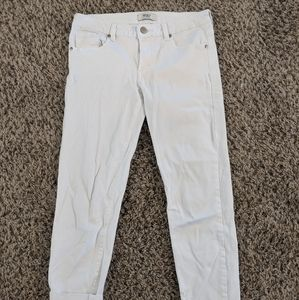 Forever 21 White Jean